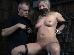 Closeup bdsm action...