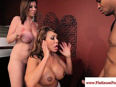 Ava Devine and Sara Jay...